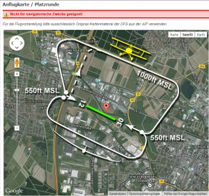 Anflugkarte EDTC